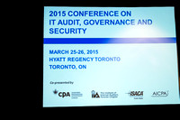 2015 Conference on IT Audit, Governance and Security at Hyatt Re