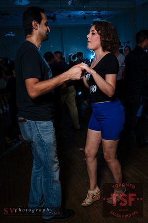 Friday night at Toronto Salsa All Stars