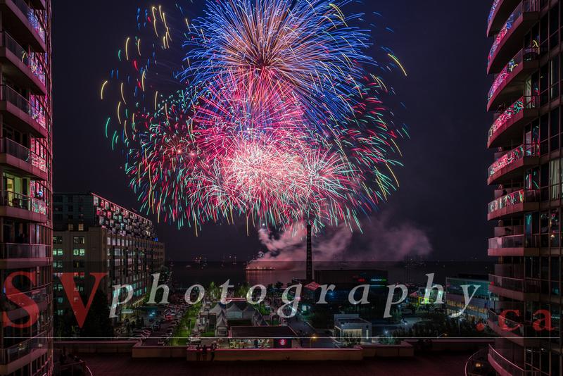 SVPhotography.ca: Canada Day Eve's Fireworks &emdash; Fireworks