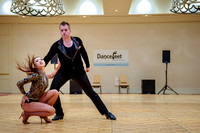 2014 CSBC - Thurs - Pro Bachata Dance Competition - Renaud & Tan