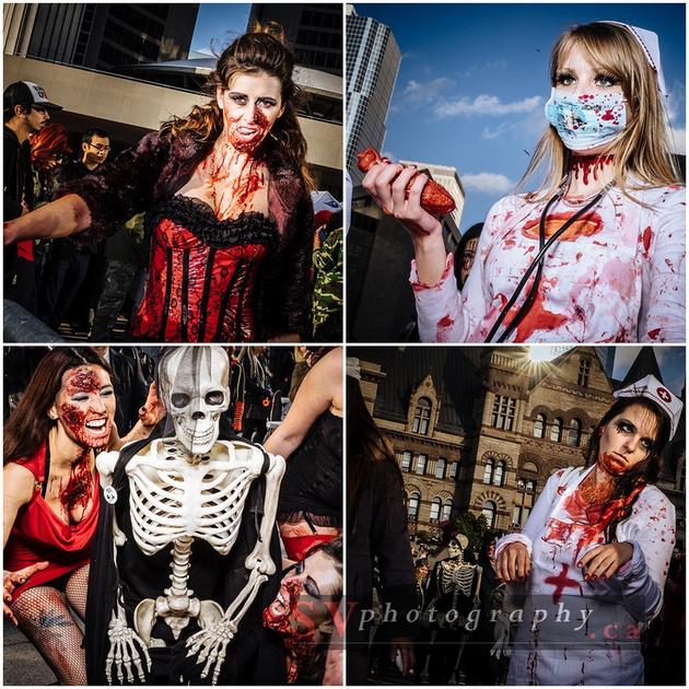 SVPhotography.ca: Blog &emdash; Toronto Zombie Walk